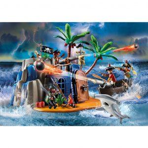 Playmobil Covo del tesoro dei pirati