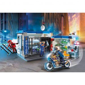 Playmobil Fuga dalla Stazione di Polizia
