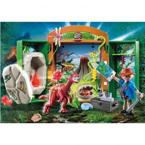 Play Box 'Archeologo con uovo di dinosauro'