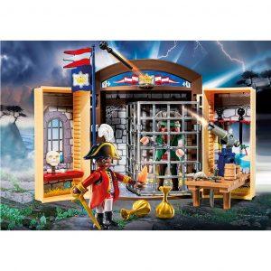 Play Box 'Avamposto della Marina con pirata'