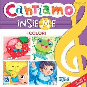 """Raffaello Libro """"Cantiamo Insieme i Colori"""""""