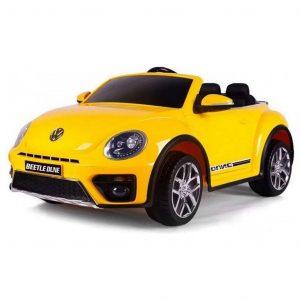 BabyCar Volkswagen the New Beetle Giallo