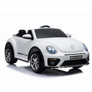 BabyCar Volkswagen the New Beetle Bianco